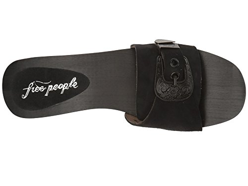 Free People Westtown Slide Clog Sandal, Black, Size 39 (9 US)