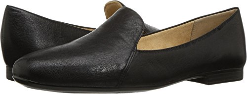 Naturalizer Women's Emiline Loafer,Black Tumble Leather,US 4 M (Black Leather Tumble)