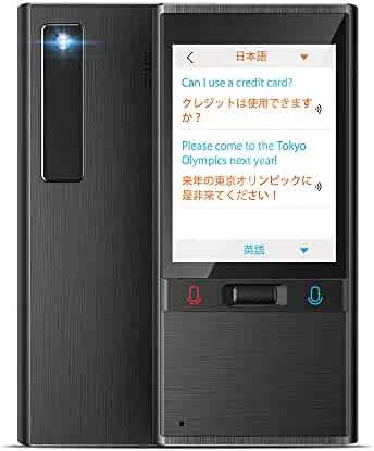 Language Translator Device with 106 Languages Ultra Battery Life 2.8 Inch Big Screen Camera Translation WiFi or Hotspot for Travelling Learning Business Shopping