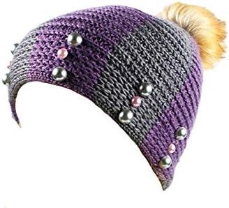 Gespout Caps para Mujer Tejer Ganchillo Sombrero niña Sombreros ...