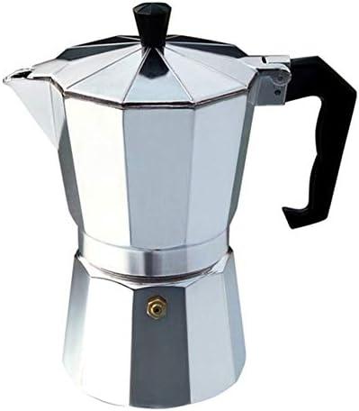 Peanutaso Cafetera de Aluminio Moka Pot Octangle para café Mocha ...