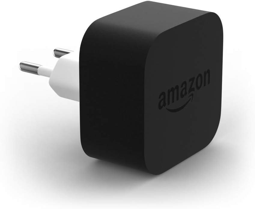 Cargador Amazon PowerFast para una carga más rápida, compatible con todos los dispositivos Amazon y Android