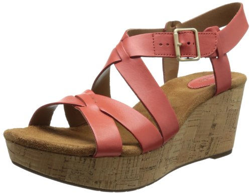 9c69d6d850c1 Clarks Women s Caslynn Cheryl Wedge Sandal - Import It All