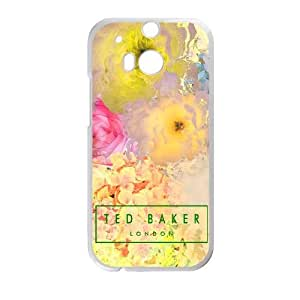 Design Cases HTC One M8 Cell Phone Case White Ted Baker Dddla Printed Cover