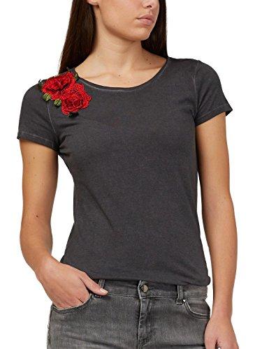 Para Gas Sin Mujer Mangas Camiseta qfZBxwPUF