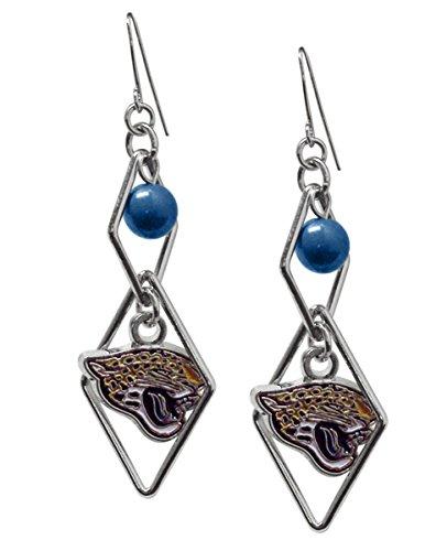 - NFL Jacksonville Jaguars Triangle Logo Dangler Earrings