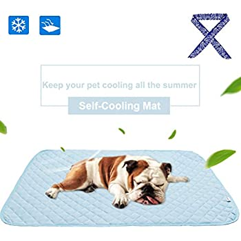 Amazon.com : PUPTECK Pet Self - Cooling Mat with Cooling