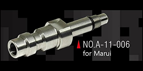 Action Army Tokyo Marui GBB Stainless Steel CNC HPA Adapter Nozzle Valve (US) Made in Taiwan