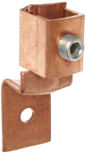 Morris Products 90526 Single Offset Mechanical Connector, Copper, 400A Rating, 500mcm - 4/0 Wire Range 500mcm Cable