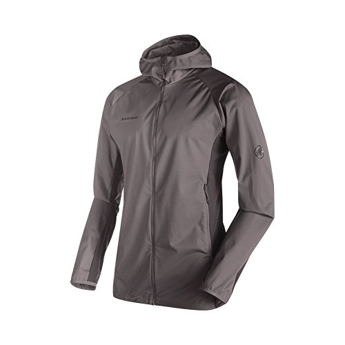 Mammut Kento Light SO Hooded Jacket titanium/dark titanium L from Mammut