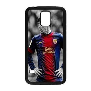 Generic Design Back Case Cover Samsung Galaxy S5 I9600 Cell Phone Case Black Lionel Messi Slyafe Plastic Case