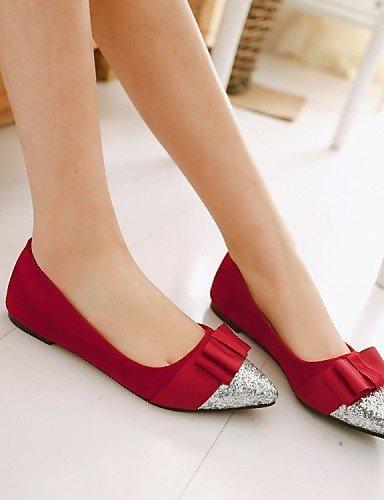 seda PDX con de soporte purpurina polar tal forro zapatos de mujer de wFFqCp
