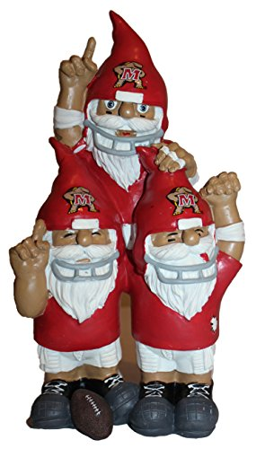 Team Celebration Gnomes (NCAA Maryland Terrapins Team Celebration Gnome, One Size, Red)