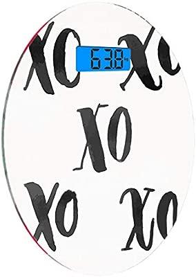 Escala digital de peso corporal de precisión Ronda Xo Decor ...