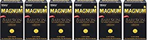 Trojan Magnum Bareskin JYuoT Lubricated Condoms, 10 Count (6 Pack) RhqTc