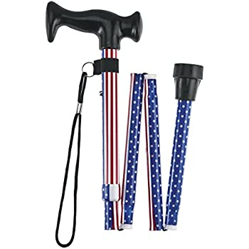 Amazon Com Fashion Folding Cane Collapsible Lightweight