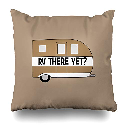 Suesoso Decorative Pillows Case 16 x 16 Inch Rv re Yet Throw Pillowcover Cushion Decorative Home Decor Garden Sofa Bed Car from Suesoso