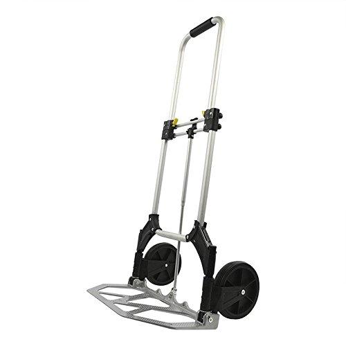 Pro Plus 770926 carrello pieghevole alluminio 70 kg, Argento/Nero IWH