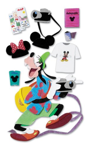 - Disney Tourist Goofy Dimensional Sticker