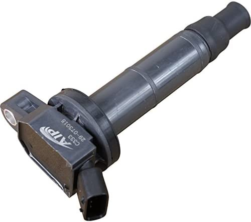 AIP Electronics Premium Ignition Coil on Plug COP Pencil Pack Compatible Replacement For 2001-2010 Toyota and Scion 2AZFE Oem Fit C333