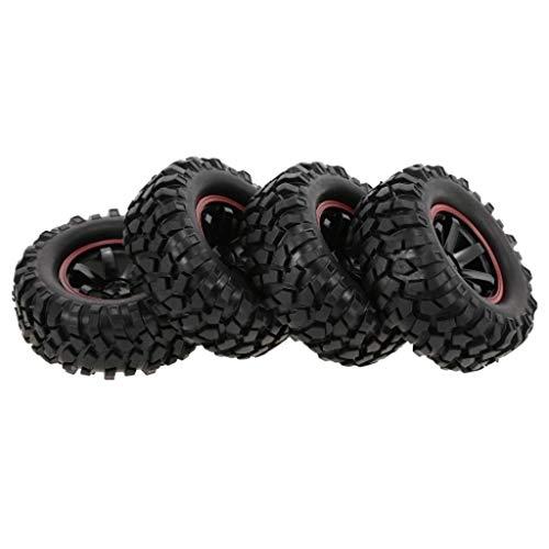Littleice Rock Crawler Tire Tyre for 1/10 RC car CC01 rc4wd D90 D110 SCX10 1.9 4PCS -