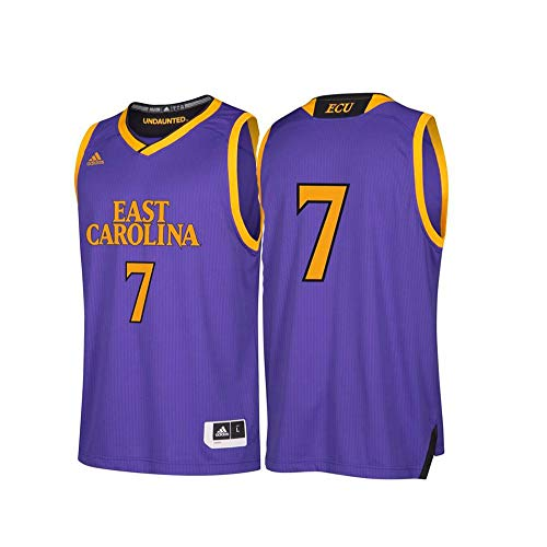 adidas Men's Replica Basketball Jersey, Regal Purple,