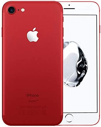 Amazon Com Apple Iphone 7 128gb Red For At T T Mobile Renewed