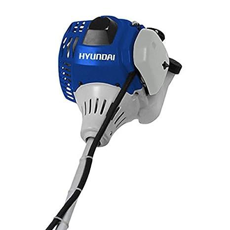 Hyundai hybc4300 43 cc gasolina cortador de cepillo: Amazon.es ...