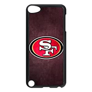 The logo of NFL for Apple iPod Touch 5th Black Case Hardcore-8 Kimberly Kurzendoerfer
