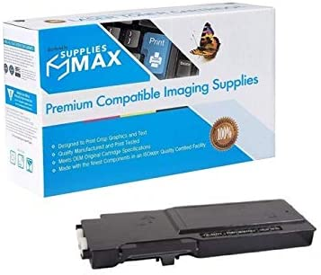 6000 Page Yield SuppliesMAX Compatible Replacement for PrintMaster TN7955 Black Toner Cartridge Equivalent to Dell 593-BBBU