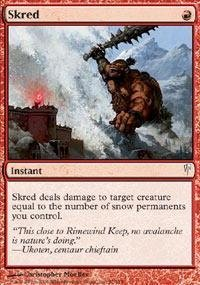 Magic: the Gathering - Skred - Coldsnap
