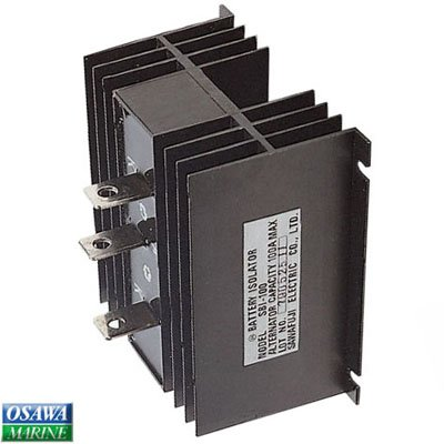 永興電機 充電分配器 アイソレーター100A 商品番号:3467   B076DQF7D7