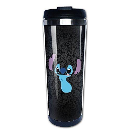Ohana Stitch Shape Coffee Mug, Coffee Travel Mug, Coffee The