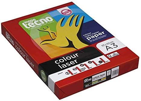 tecno inapa laser-papel láser color A3, 90 G/cm: Amazon.es ...