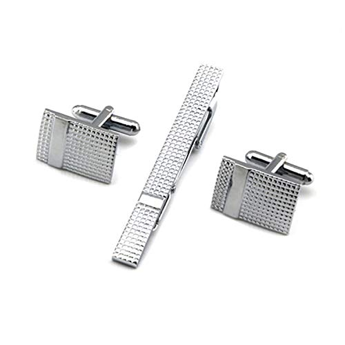 Oldlila 1 pcs Tie Clips Gold Simple Pattern Tie Clips For Men's Business Wedding Clips by Oldlila (Image #9)
