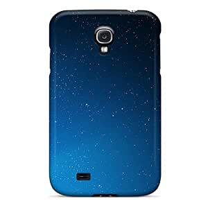 Flexible Tpu Back Case Cover For Galaxy S4 - Space Aurora