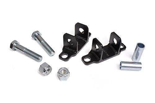 Rough Country - 1089 - Rear Shock Upper Bar Pin Eliminator Kit for Jeep: 07-18 Wrangler JK 4WD, 97-06 Wrangler TJ 4WD, 07-18 Wrangler Unlimited JK 4WD/2WD, 04-06 Wrangler Unlimited LJ 4WD