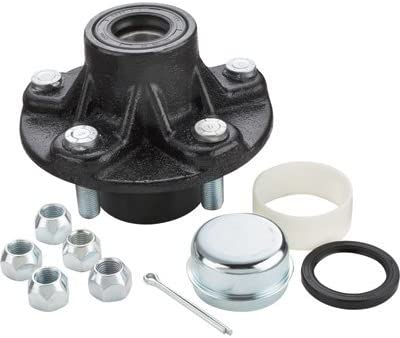 1750 lb Ultra-Tow XTP Ultra Pack Trailer Hub 5 on 4 1//2in Capacity