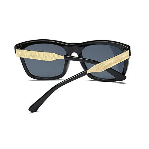 Aoligei Hommes et femmes lunettes de soleil lumineux couleur lunettes carrés rétro pas cher lLAY9