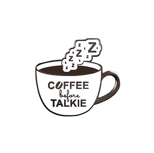 Balanced Co. Coffee Enamel Pin
