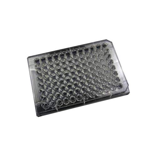 Evergreen Scientifics 222-8030-01F Polystyrene Untreated Microplate with Lid, Sterile, Flat Bottom, 96-Well (Pack of 100)