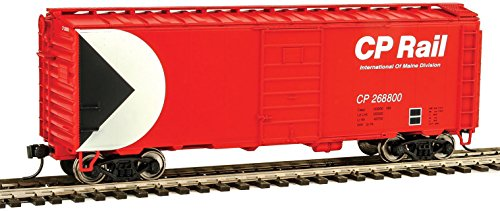 Walthers-40' PS-1 Boxcar - Ready to Run -- Canadian Pacific #268800 (Action Red,