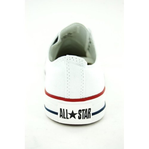 Converseer All Star Ox Mens Sneakers Style # M7652 (8 Heren Ons, Wit)