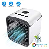 Portable Air Conditioner, USB air Cooler, Humidifier Purifier, Desktop Mini Cooling Fan, Personal