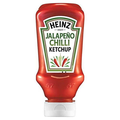 Heinz Jalepeno Chilli Ketchup 220ml - Pack of 6
