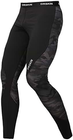DRSKIN Compression Cool Dry Sports Tights Pants Baselayer Running Leggings Yoga Rashguard Men Women