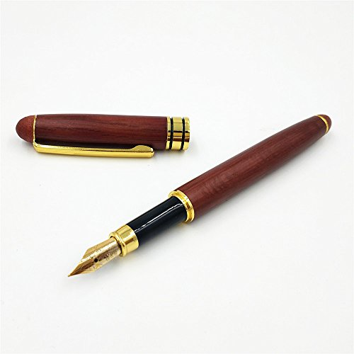 Personalized Handcrafted Wood (Personalized Luxury Wood Fountain Pen, 100% Handcrafted Wood Traditional Ink Pen, Perfect Gift for him Gift for her, Unique Gift)
