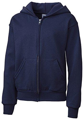 Navy Full Zip Fleece - 7