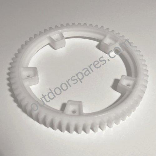 Genuine Mountfield White Plastic Rear Wheel Drive Gear Part No 322120115/0
