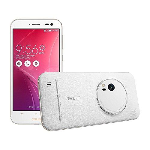 Asus ZenFone Zoom (ZX551ML) 128GB White, 5.5-inch, 4GB RAM, 13 MP, GSM Unlocked International Version, No Warranty